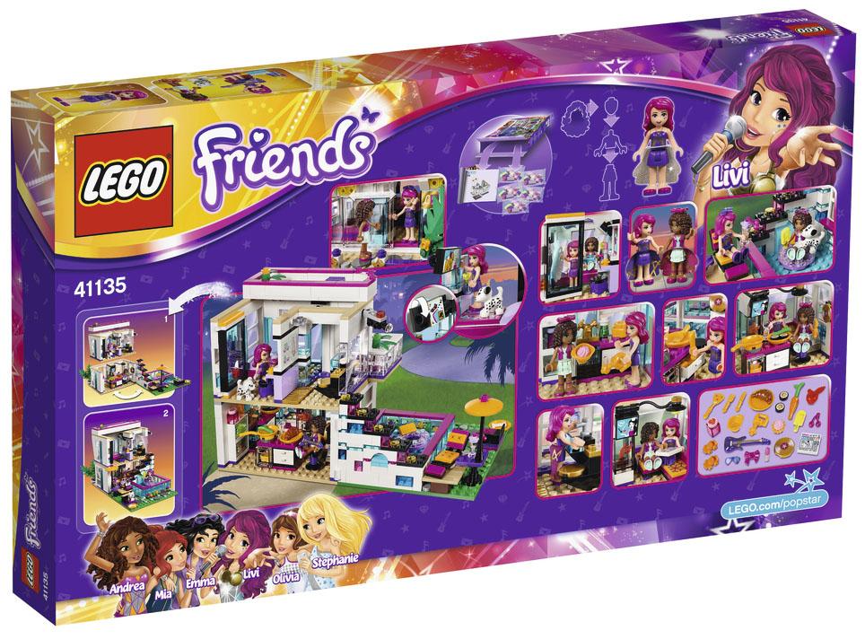 Salle De Bain Moderne 2016 : LEGO Friends 41135 pas cher – La maison de la Pop Star Livi