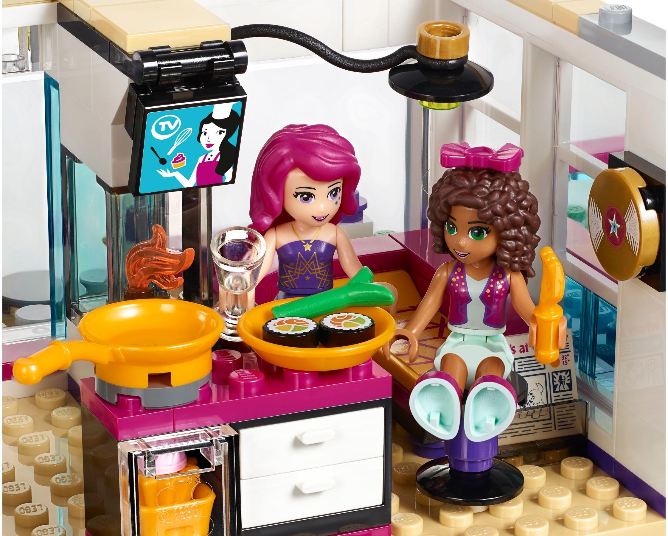Lego friends 41135 pas cher la maison de la pop star livi - Lego friends casa de livi ...