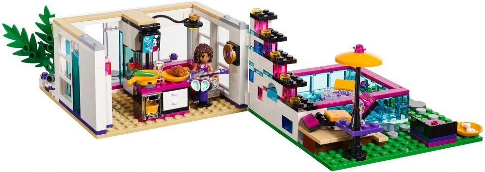 Lego friends 41135 pas cher la maison de la pop star livi - Maison pop up prix ...