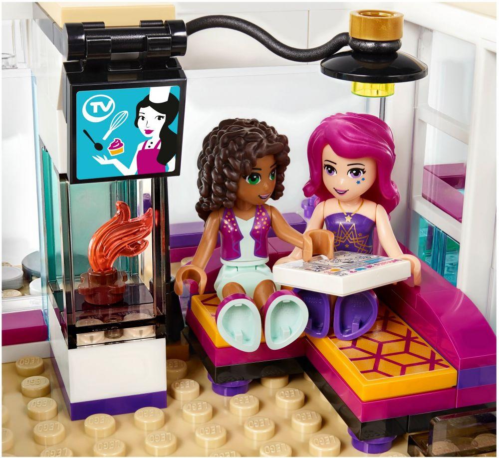 LEGO Friends 41135 pas cher, La maison de la Pop Star Livi