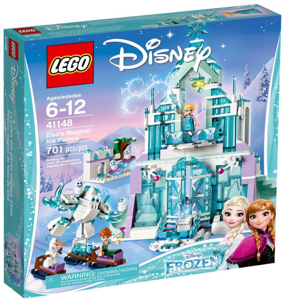 lego disney 41148 le palais des glaces magique delsa