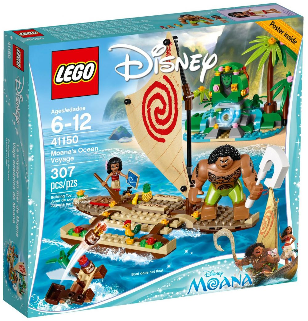 lego disney 41150 pas cher le voyage en mer de vaiana. Black Bedroom Furniture Sets. Home Design Ideas