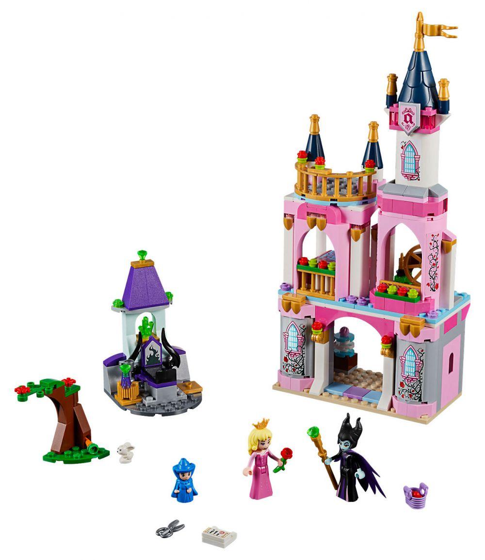 LEGO Disney 41152 Pas Cher, Le Château De La Belle Au Bois