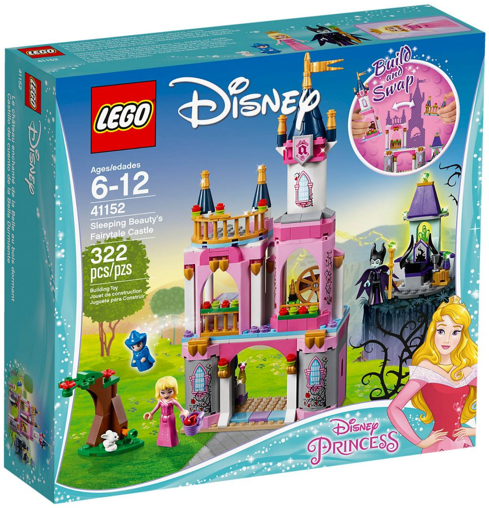 Le Château Bois Dormant La 41152 Lego Au Disney De Belle QCxsrdth