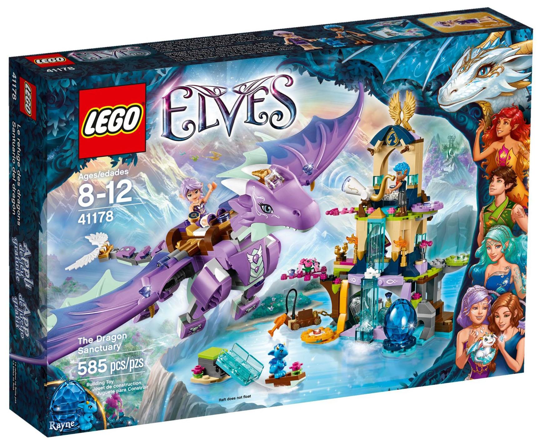 LEGO Elves 41178 pas cher - Le sanctuaire du dragon