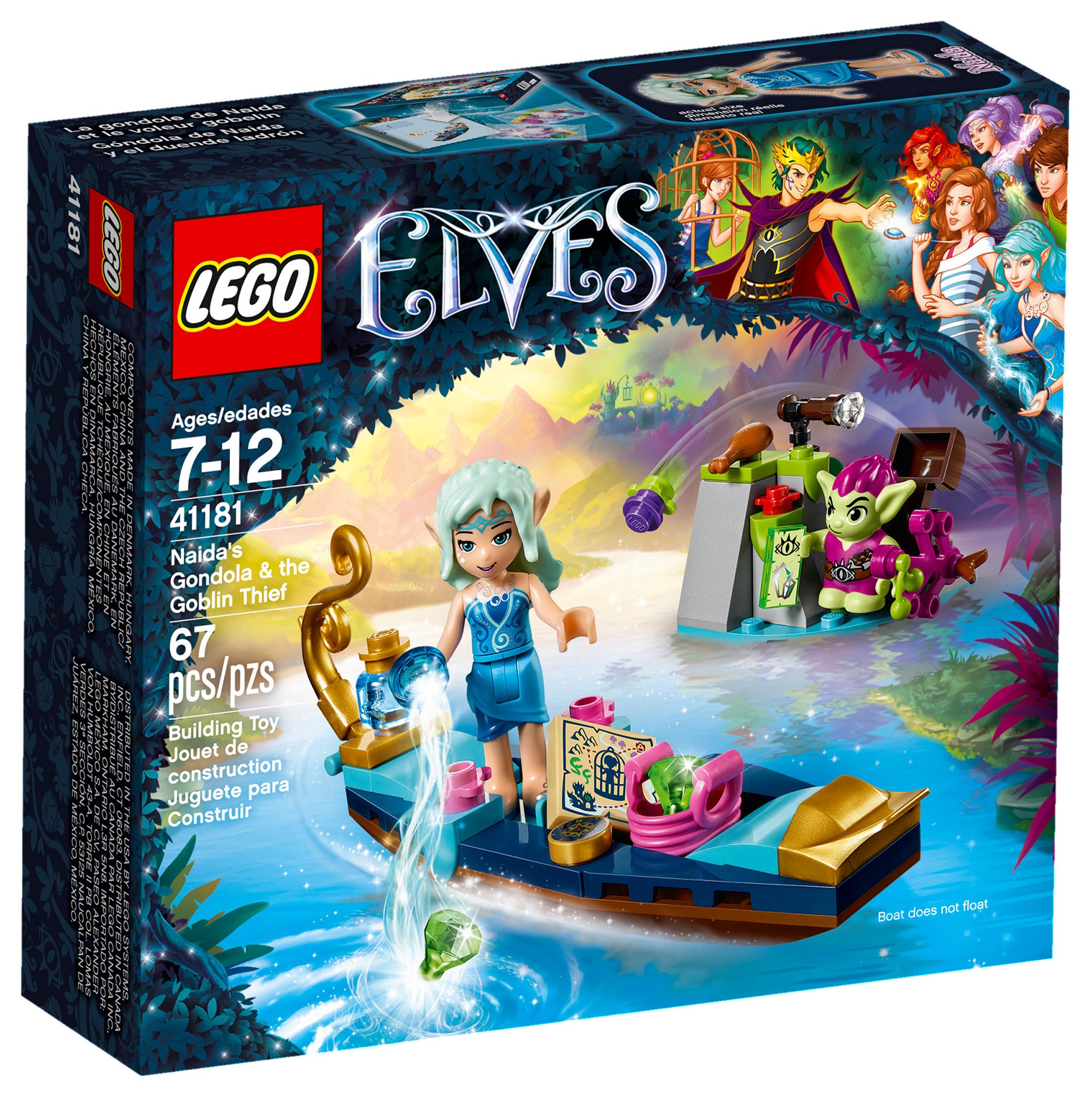 Lego 41181 Gobelin Naida Voleur La Elves Le Gondole De Et xrhtdsQC