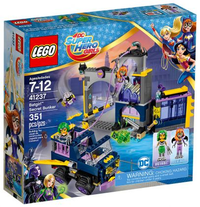 LEGO DC Super Hero Girls 41237 Le Bunker secret de Batgirl