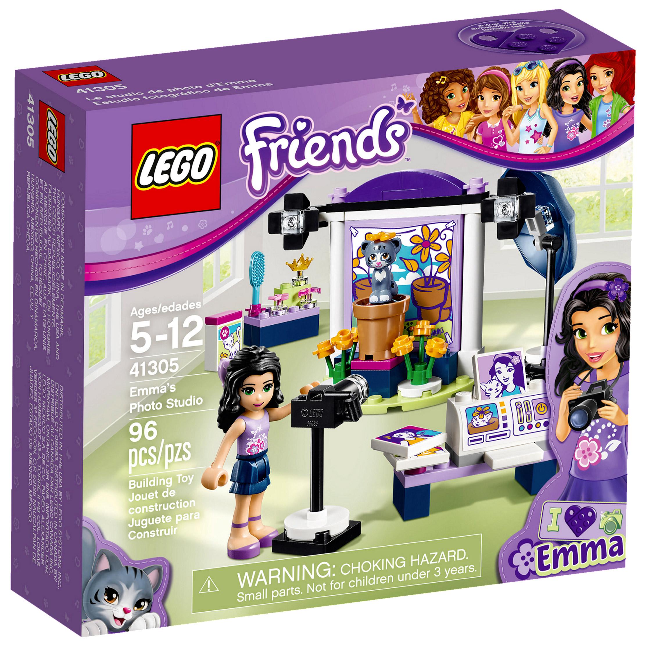 Lego Friends 41305 Pas Cher Le Studio Photo D Emma