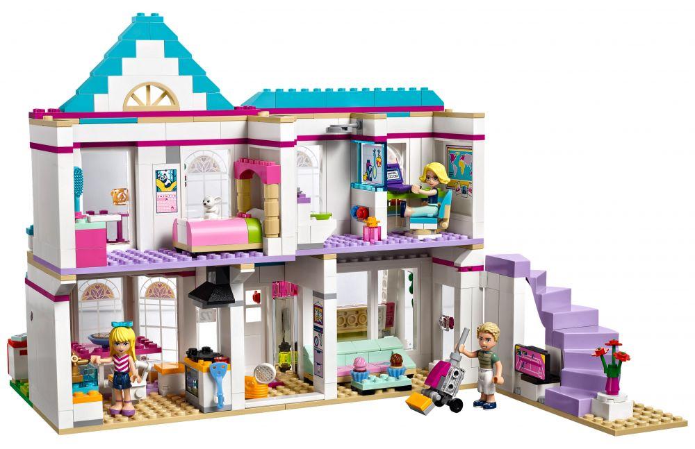 Lego friends 41314 pas cher la maison de st phanie for La maison des bebes