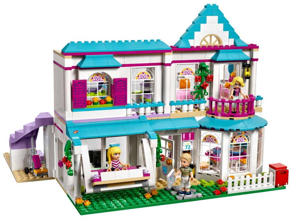 lego friends 41314 pas cher la maison de st phanie. Black Bedroom Furniture Sets. Home Design Ideas