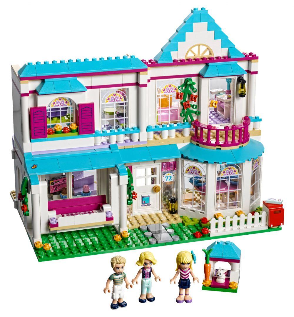 plan maison en lego