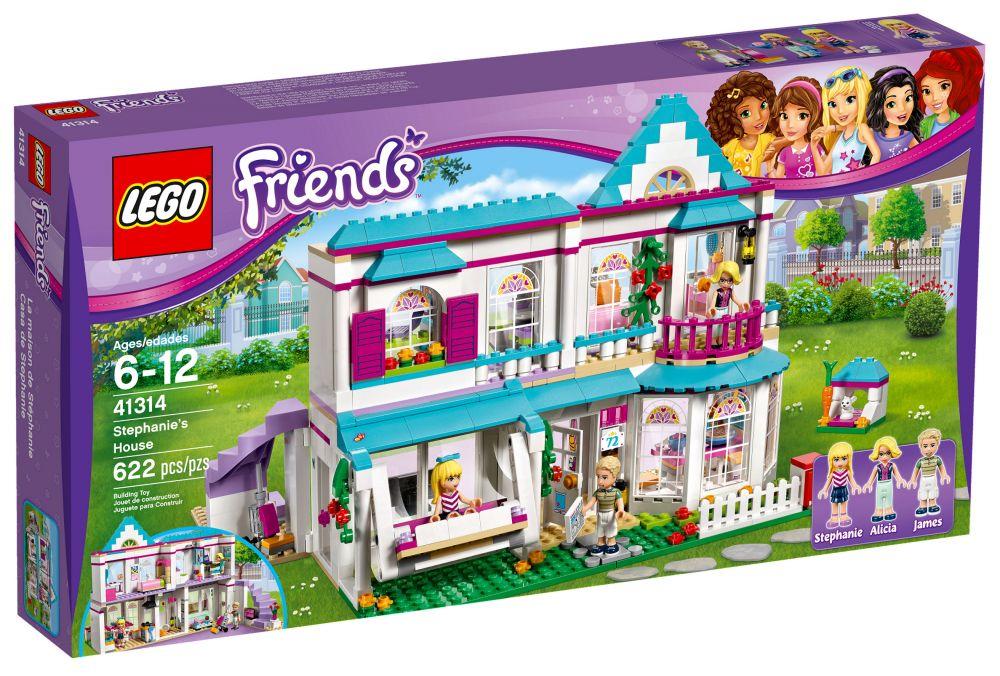 lego friends 41314 pas cher la maison de st phanie. Black Bedroom Furniture Sets. Home Design Ideas