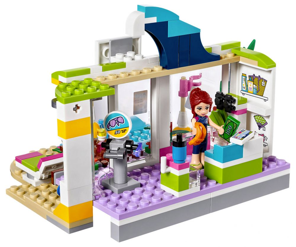 lego friends 41315 pas cher le magasin de plage. Black Bedroom Furniture Sets. Home Design Ideas