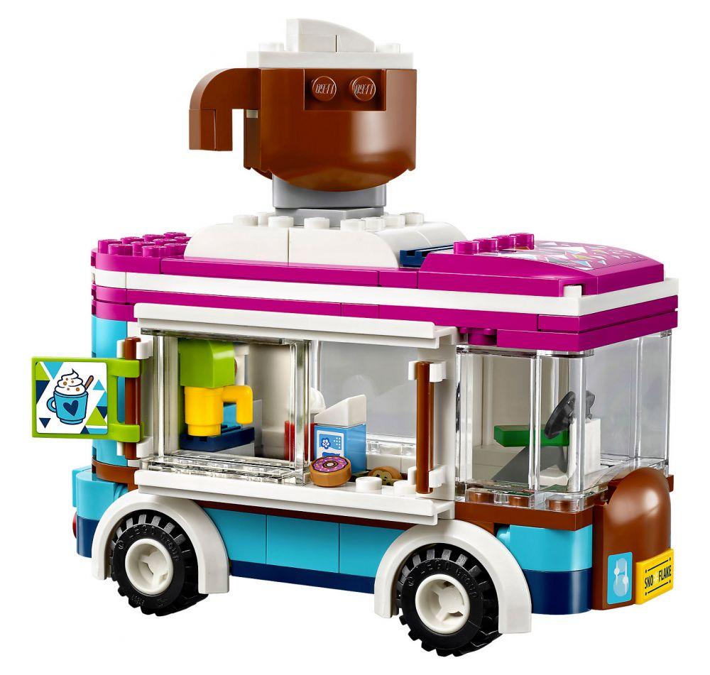 lego friends 41319 pas cher la camionnette chocolat de la station de ski. Black Bedroom Furniture Sets. Home Design Ideas