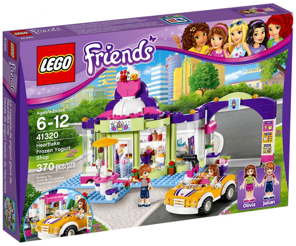 lego friends 41320 pas cher le magasin de yaourt glac. Black Bedroom Furniture Sets. Home Design Ideas