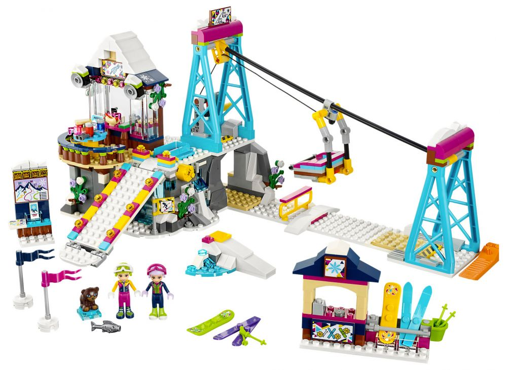 Friends La De Lego 41324 Station Ski A54RjL
