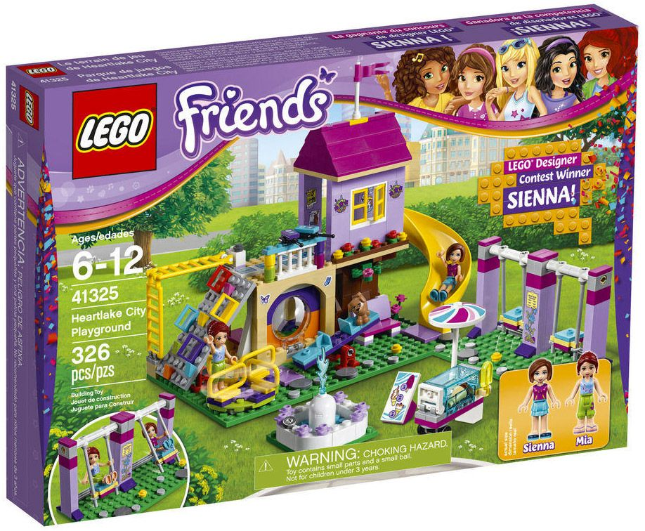 lego friends 41325 pas cher l 39 aire de jeu d 39 heartlake city. Black Bedroom Furniture Sets. Home Design Ideas