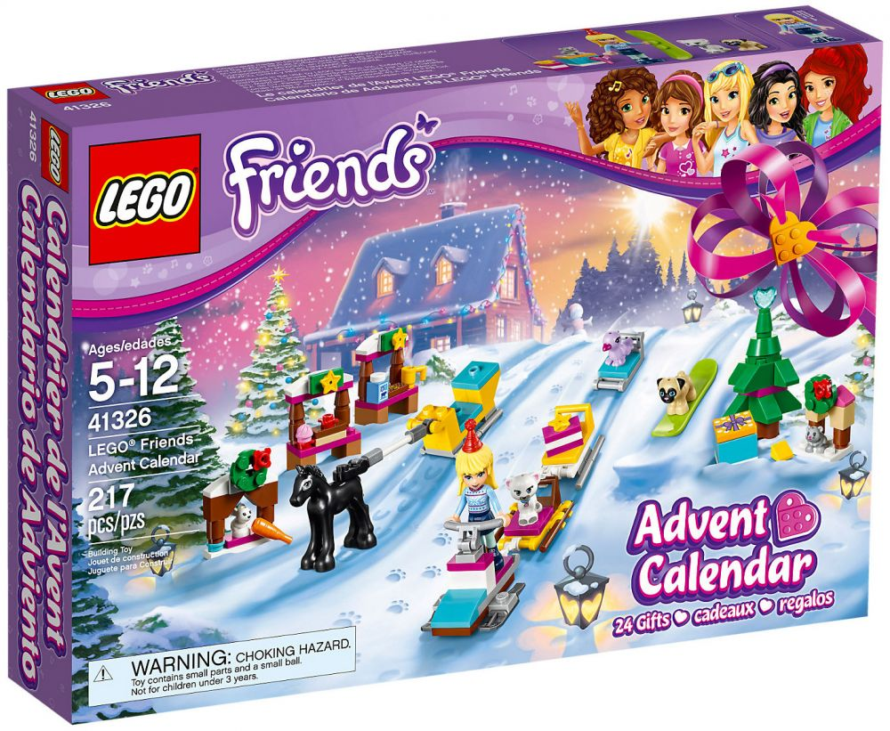 lego friends 41326 pas cher calendrier de l 39 avent lego friends 2017. Black Bedroom Furniture Sets. Home Design Ideas