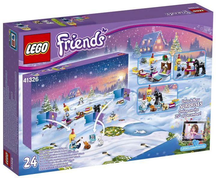 lego friends 41326 pas cher calendrier de l 39 avent lego. Black Bedroom Furniture Sets. Home Design Ideas