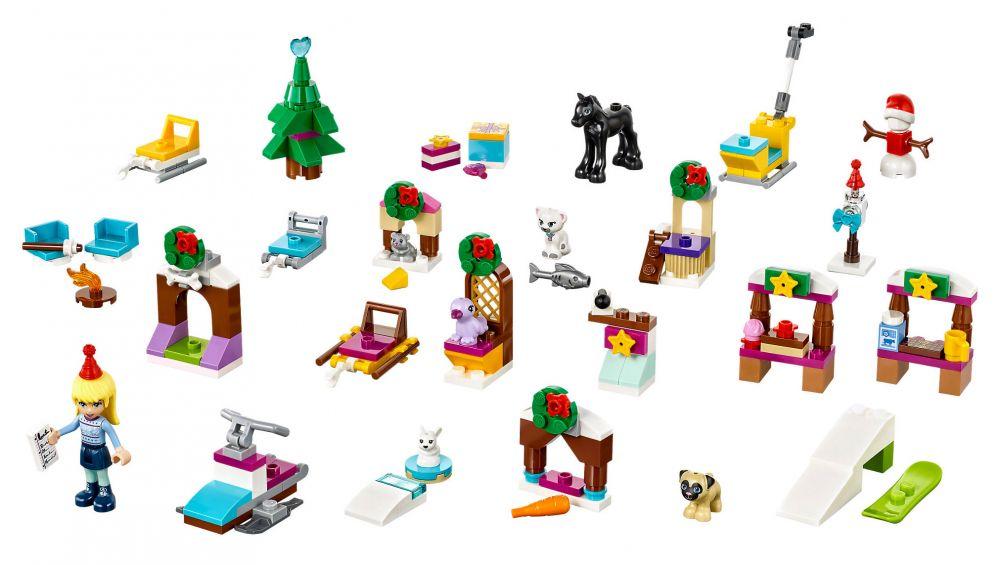 lego friends 41326 pas cher calendrier de l 39 avent lego friends 2017. Black Bedroom Furniture Sets. Home Design Ideas