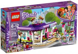 LEGO Friends 41336 Le café des arts d'Emma