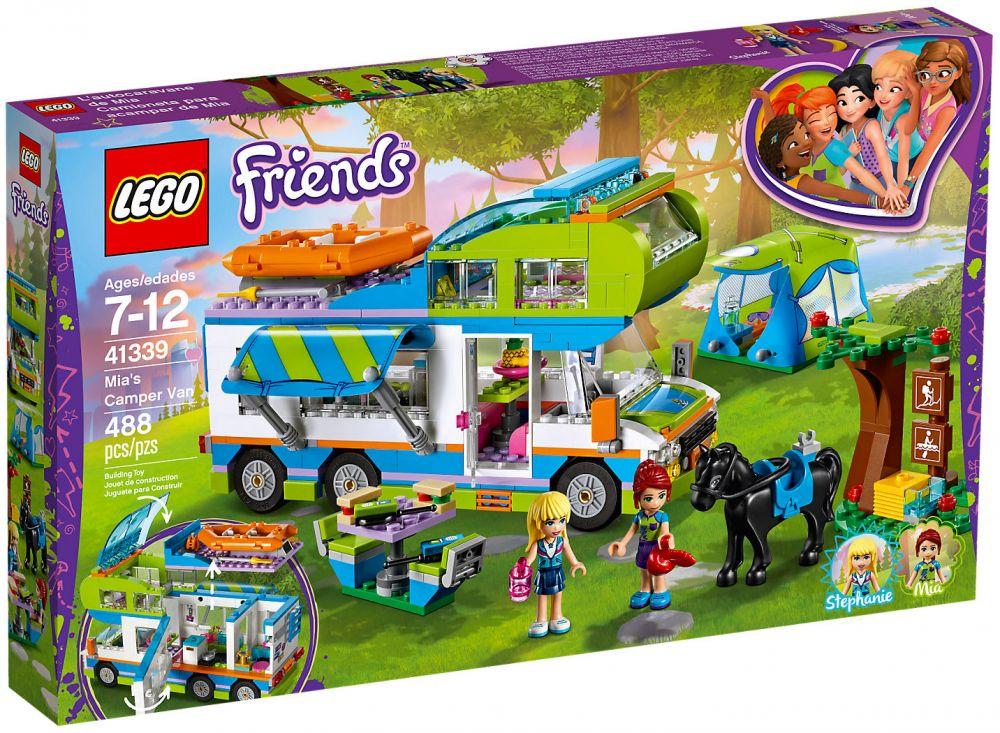Lego friends 41339 pas cher le camping car de mia - Sillones infantiles toysrus ...