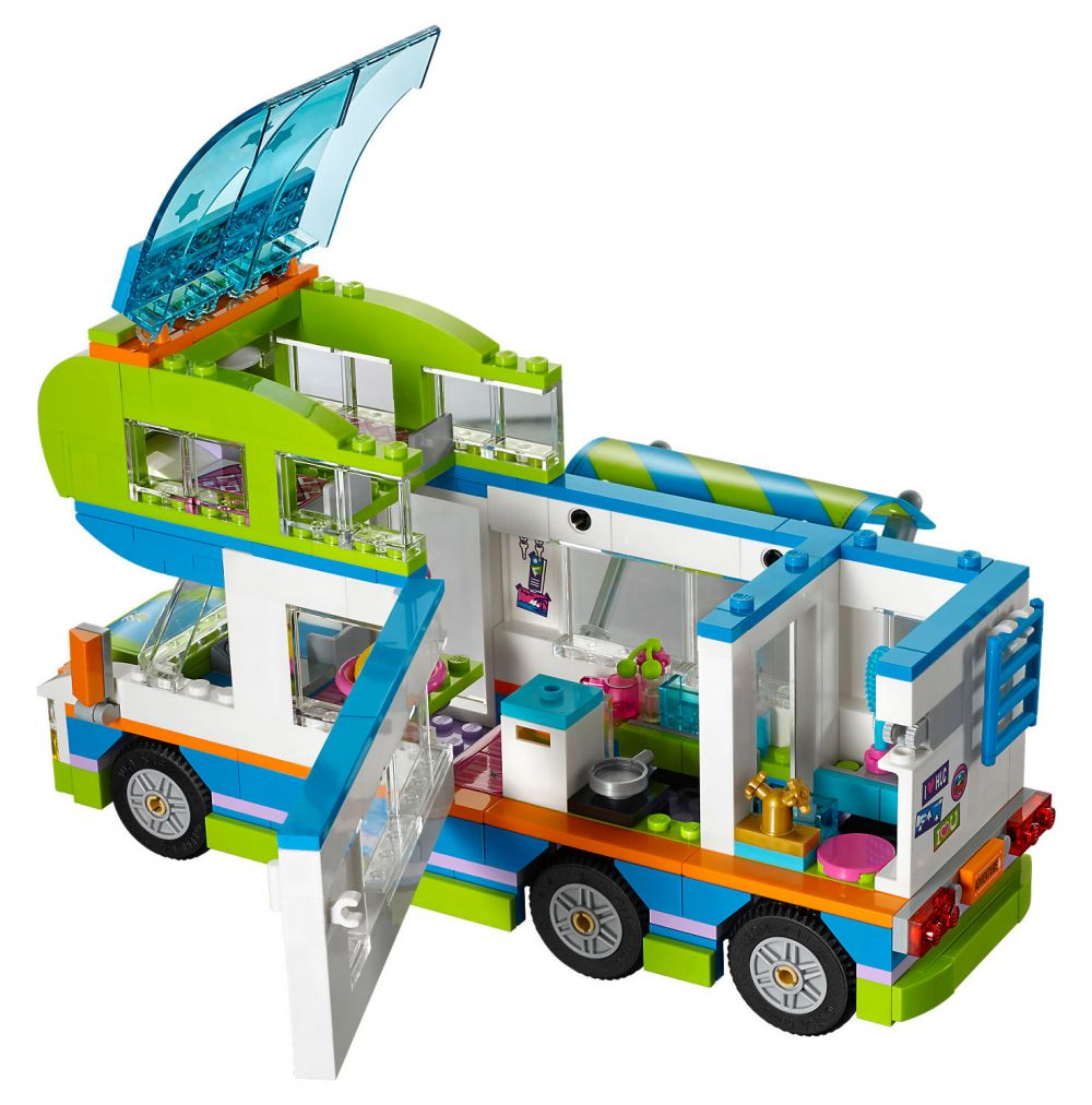 lego friends 41339 pas cher le camping car de mia. Black Bedroom Furniture Sets. Home Design Ideas