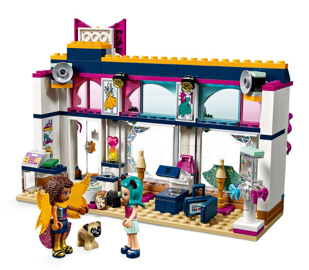 lego friends 41344 pas cher la boutique d 39 accessoires d 39 andr a. Black Bedroom Furniture Sets. Home Design Ideas