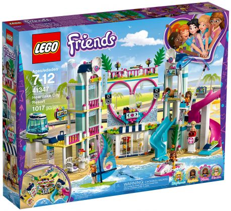 LEGO Friends 41347 Le complexe touristique d'Heartlake City
