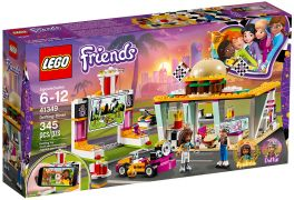 LEGO Friends 41349 - Le snack du karting pas cher