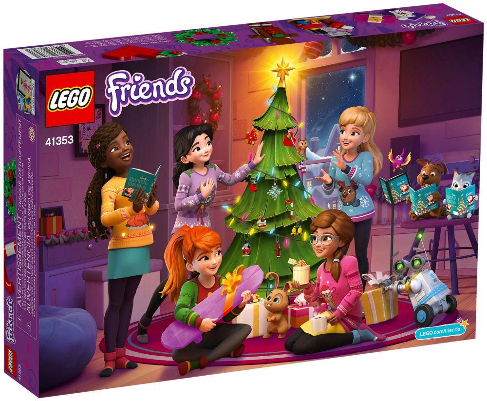 Calendrier Lego Friends 2019.Lego Friends 41353 Calendrier De L Avent Lego Friends 2018