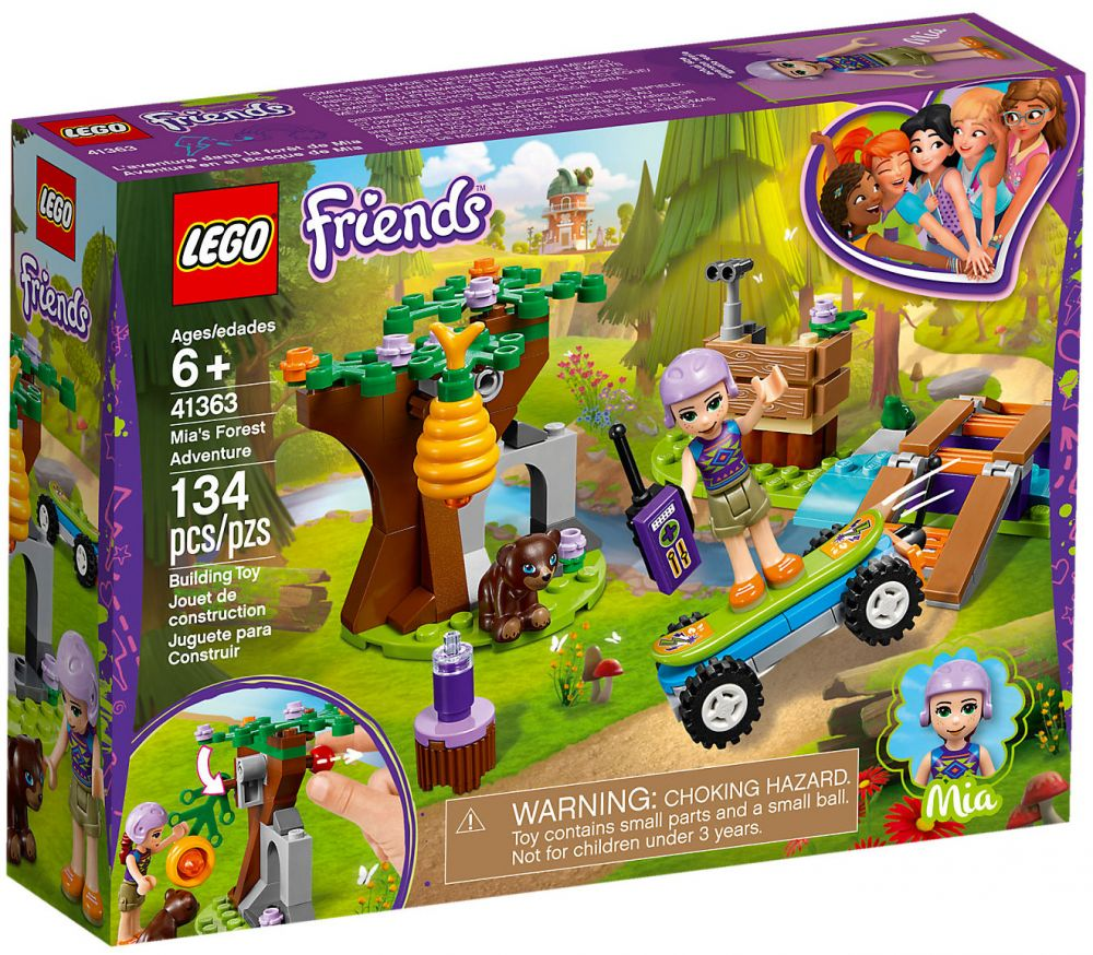 Dans De L'aventure Mia Lego Friends La Forêt 41363 QhBordCtxs