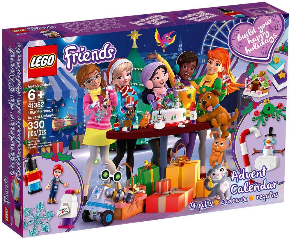 Calendrier Lego Friends 2019.Lego Friends 41382 Calendrier De L Avent Lego Friends 2019