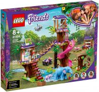 LEGO Friends 41424 La base de sauvetage dans la jungle