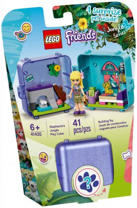 LEGO Friends 41435 Le cube de jeu de la jungle de Stéphanie