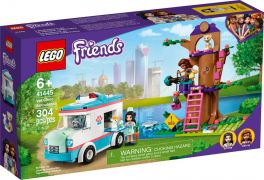 LEGO Friends 41445 L'ambulance de la clinique vétérinaire