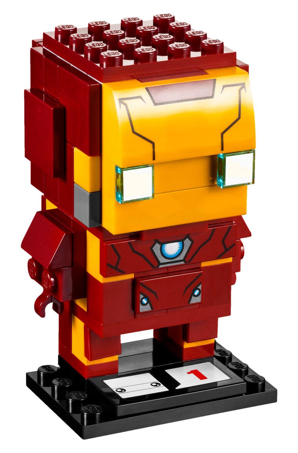 lego brickheadz 41590 pas cher iron man. Black Bedroom Furniture Sets. Home Design Ideas