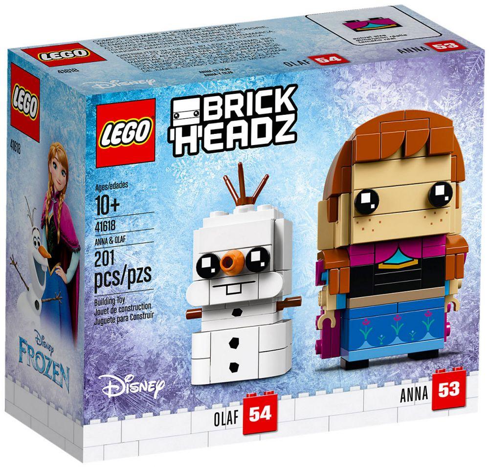 Reine Pas CherAnnaamp; Brickheadz Olafla 41618 Lego Des Neiges 1KJclF