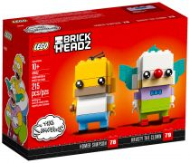 LEGO BrickHeadz 41632 Homer Simpson & Krusty le Clown