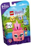 LEGO Friends 41662 Le cube flamant rose d'Olivia