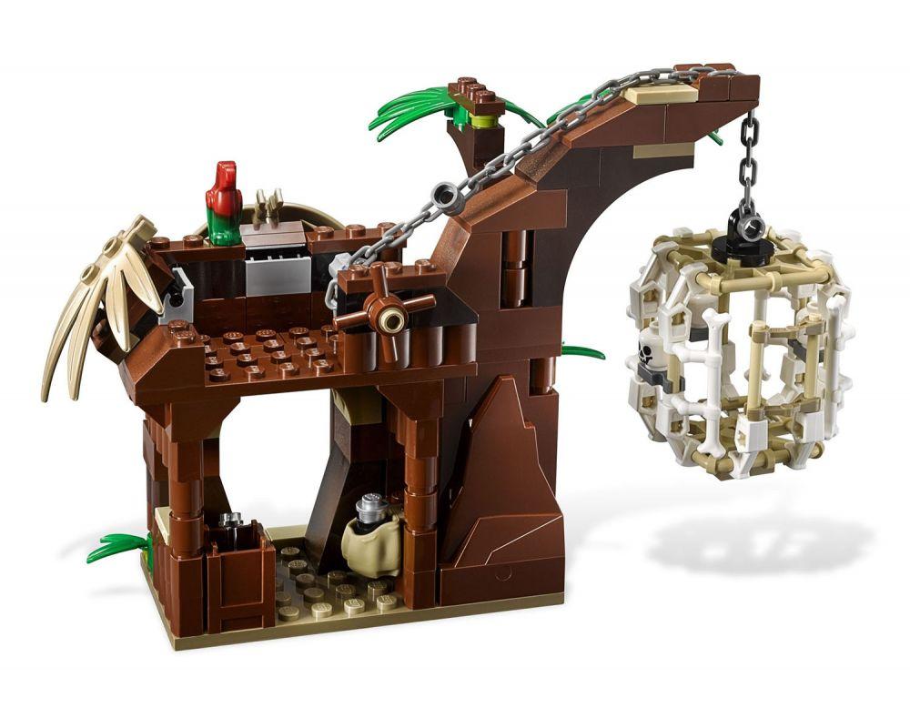 lego pirates des cara bes 4182 pas cher prisonnier des. Black Bedroom Furniture Sets. Home Design Ideas