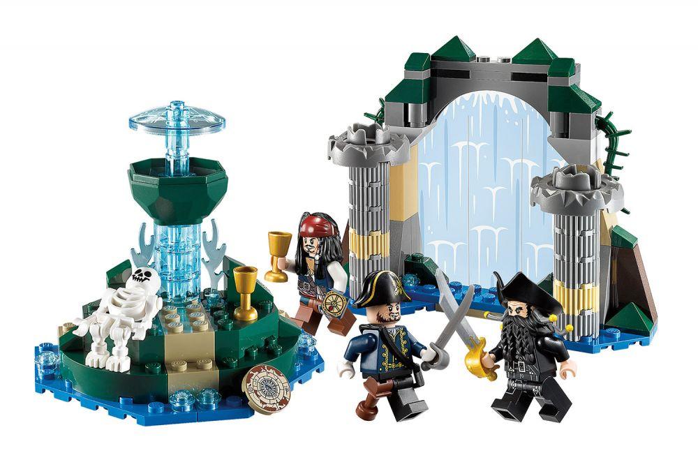 lego pirates des cara bes 4192 pas cher la fontaine de. Black Bedroom Furniture Sets. Home Design Ideas