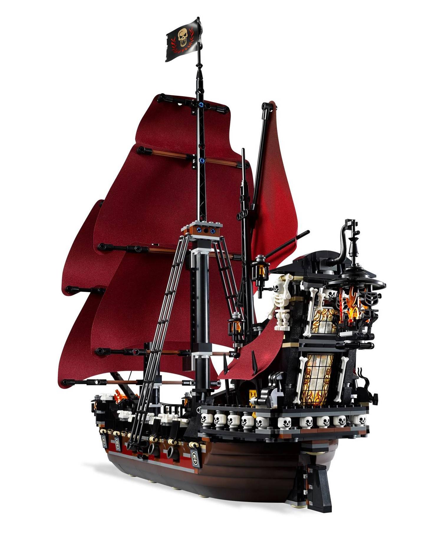 lego pirates des cara bes 4195 pas cher la revanche du queen anne. Black Bedroom Furniture Sets. Home Design Ideas