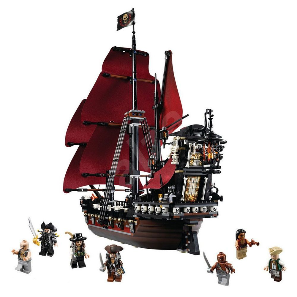 lego pirates des cara bes 4195 pas cher la revanche du. Black Bedroom Furniture Sets. Home Design Ideas