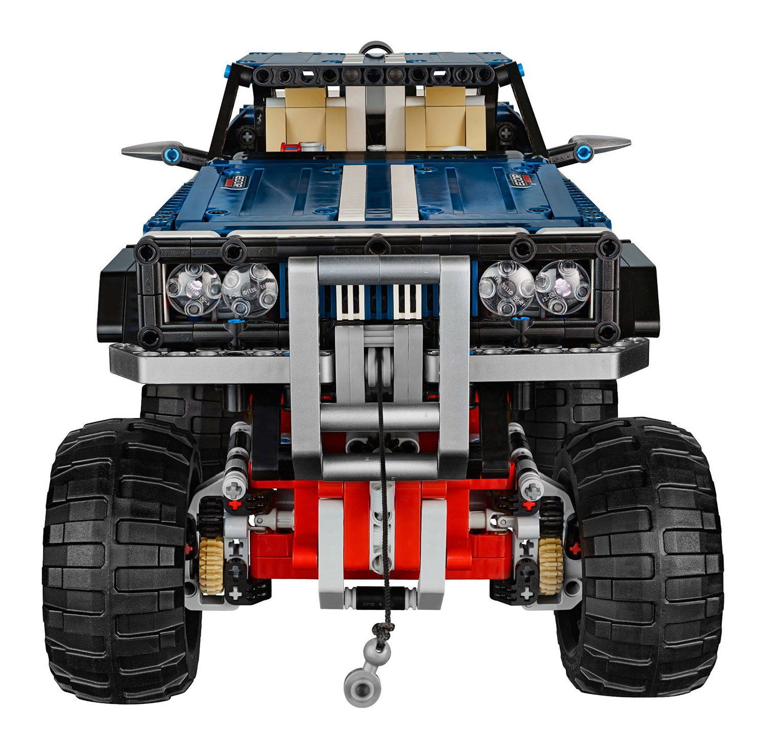 lego technic 41999 pas cher 4x4 crawler exclusive edition. Black Bedroom Furniture Sets. Home Design Ideas