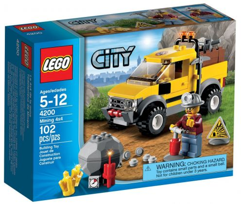 LEGO City 4200 Le 4x4 de la mine