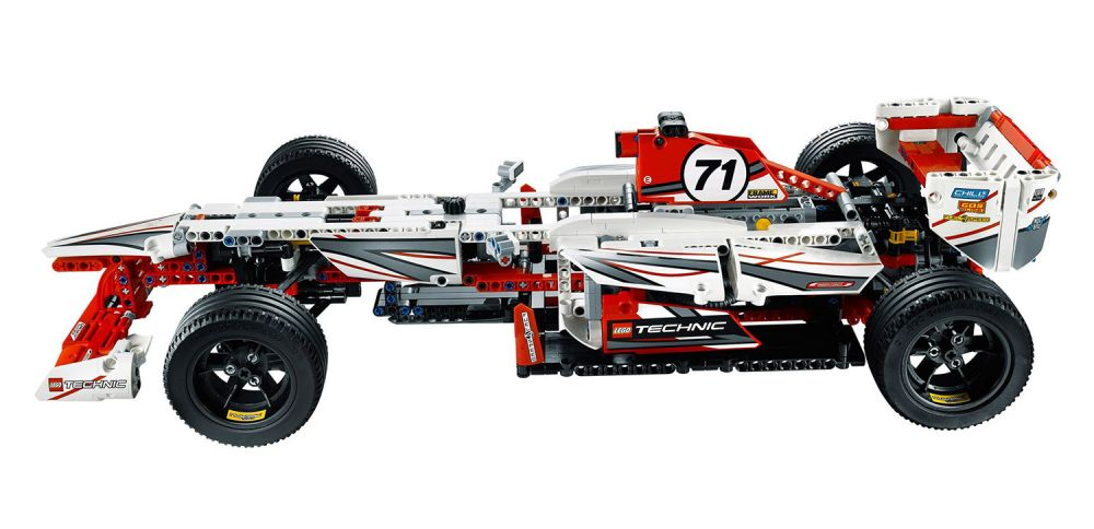 lego technic 42000 pas cher la voiture de f1. Black Bedroom Furniture Sets. Home Design Ideas