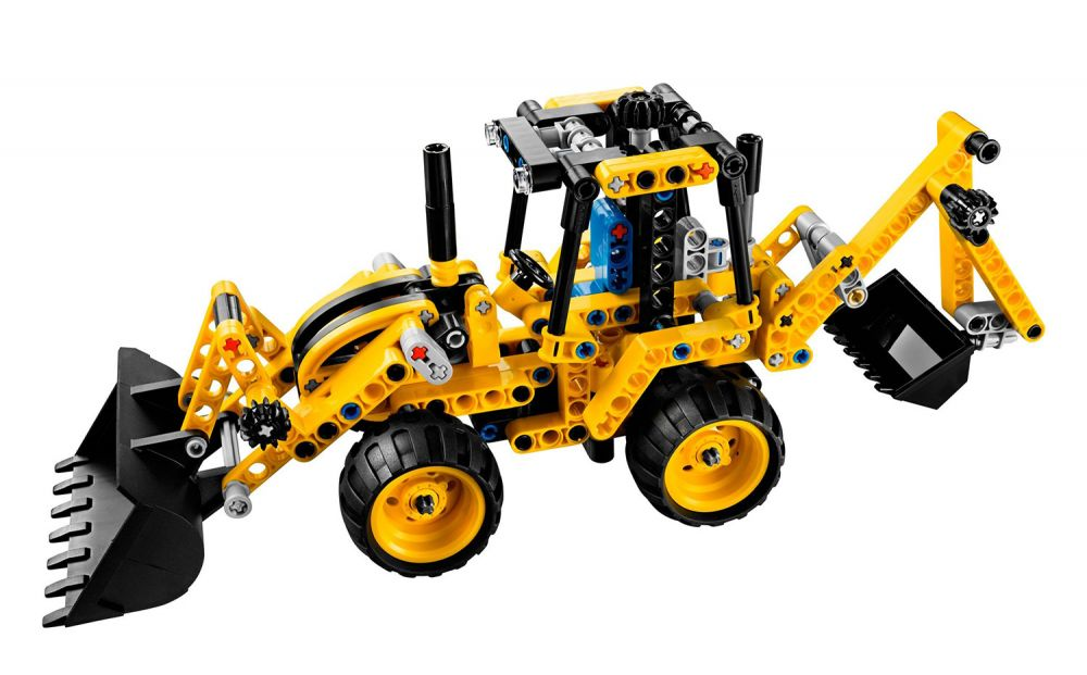 lego technic 42004 pas cher le tractopelle. Black Bedroom Furniture Sets. Home Design Ideas