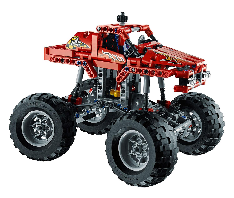 lego technic 42005 pas cher monster truck. Black Bedroom Furniture Sets. Home Design Ideas