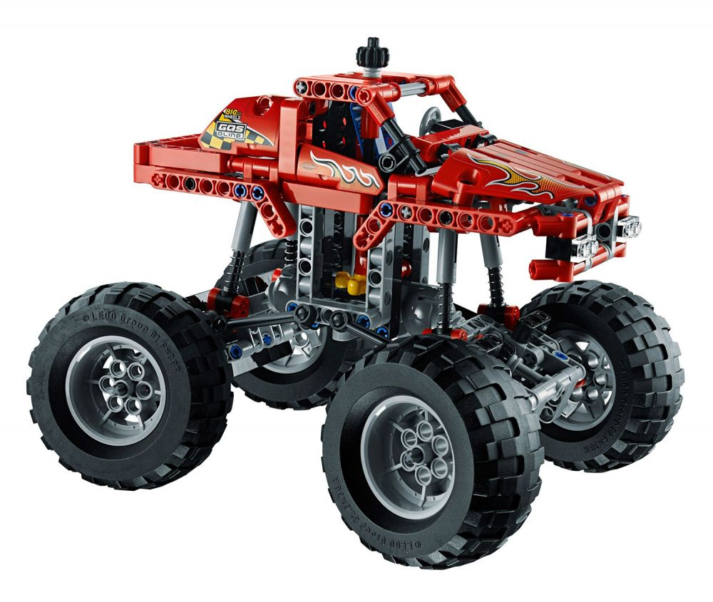 lego technic 42005 pas cher monster truck. Black Bedroom Furniture Sets. Home Design Ideas
